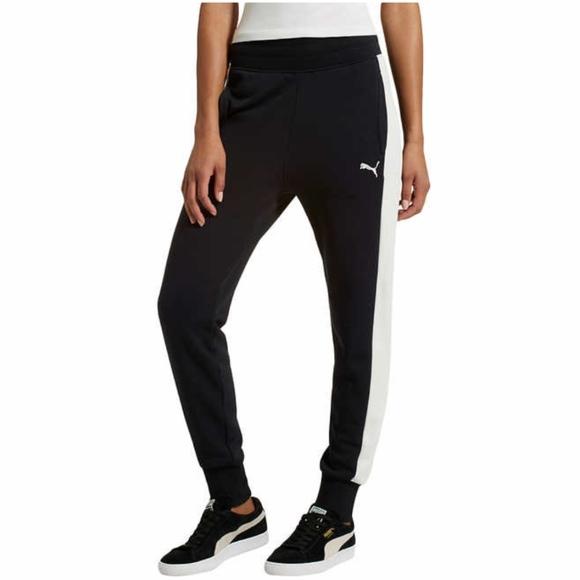 4b096f4a21788 New Puma Ladies French Terry Jogger Sweatpants